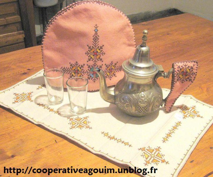 Les Broderies D Agouim Coop Rative Du Haut Atlas